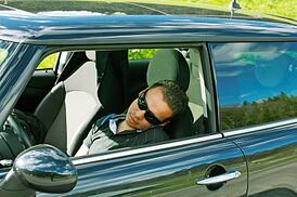autonomous driving sleeping at the wheel